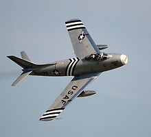 F-86 Sabre by Nigel Bangert
