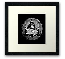 dali's all-dreaming eye Framed Print