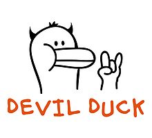 Devil Duck by chrisbears