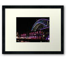 Vivid Sydney 2013 Framed Print