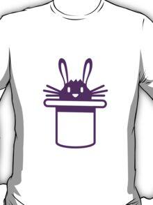 Bunny In Maigic Hat T-Shirt