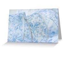 Blue Ribbon Greeting Card