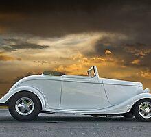1933 Ford Cabriolet by DaveKoontz
