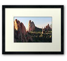 Rock of Ages Framed Print