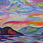 Lake Okanagan From Peachland by Morgan Ralston