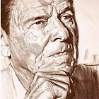 Ronald Reagan by AlexanderHunter