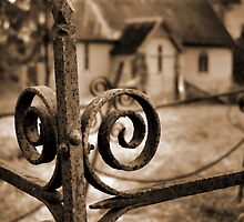 Church yard by TrudiSkene