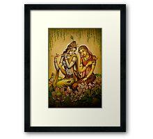 The nectar of Krishnas flute Framed Print