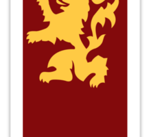 Game of Thrones - house Lannister sigil Sticker