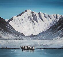 Himalayan Pass by Jan Vinclair