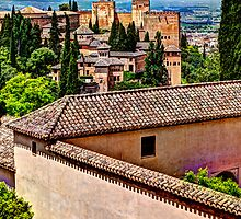 Alhambra rooftops by marcopuch