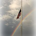 Rainbow Flag by joycemlheureux