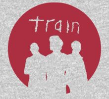 Train - Band Outline - Red Circle by ILoveTrain