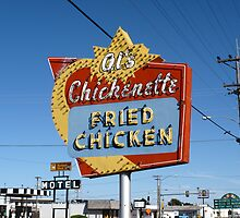 Al's Chickenette - Hays, Kansas by Frank Romeo