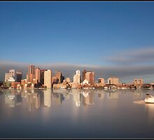 Boston Skyline by Kerim Hadzi