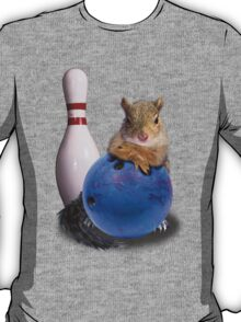 Bowling Squirrel T-Shirt