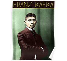 Franz Kafka (Colorized) Poster