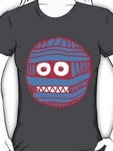 RED/BLUE MUM LOGO T-Shirt