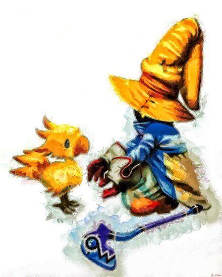 Vivi and the Chocobo by Joe Misrasi