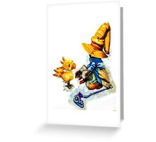 Vivi and the Chocobo Greeting Card