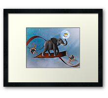 The Magical Mystery Tour... Framed Print