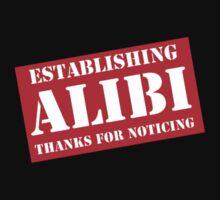 Criminal Intent ...Establishing Alibi... Kids Clothes
