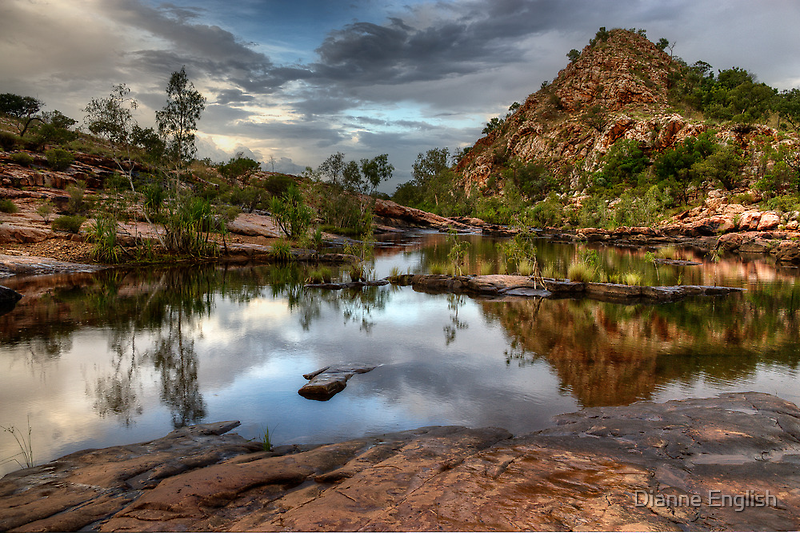 Bell Gorge by Dianne English
