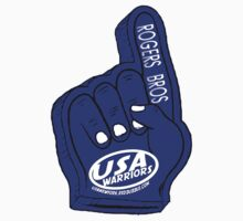 usa warriors foam hand by rogers bros by usanewyork
