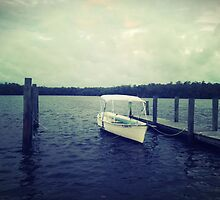Boat On The Water by ItsVaneDani