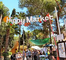 The Hippy Market, Ibiza. by ronsaunders47