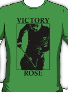 Victory Rose in Black T-Shirt
