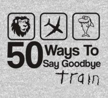 Train - 50 Ways To Say Goodbye - Lion, Airplane & Shark by ILoveTrain