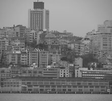 Buildings in Karaköy. by rasim1