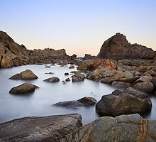 Sugarloaf Rock sunrise by Peta Santoro