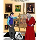 SIGFRIDO OLIVA - MONOLOGO SULL'ARTE - Official poster by CLAUDIO COSTA