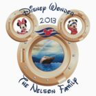Disney Wonder Cruise Family PERSONALIZE IT! ~YOU MUST BUBBLEMAIL ME FOR YOUR CUSTOM LISTING~  by sweetsisters