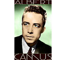 Albert Camus (Colorized) Photographic Print
