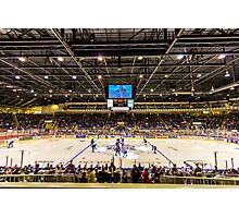 Good 'Ol Hockey Game Photographic Print