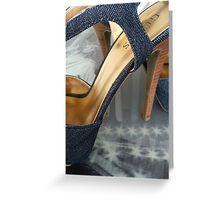Bridge of heels Greeting Card