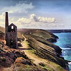 Cornish Engine House by Cat Perkinton