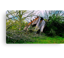 Not the house that Jack built Canvas Print
