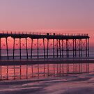Sunset at Saltburn by partridge