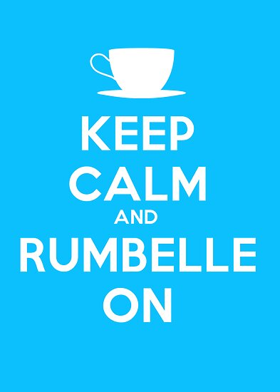 Keep Calm and Rumbelle On by mmuldoon