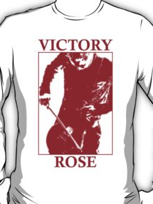 Victory Rose in Red T-Shirt