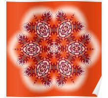 Tangerine Tufts Poster
