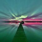sunrise @ Koolewong by Len  Gunther
