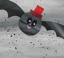 Bat in a hat by cathyjacobs