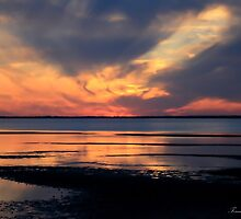 Tranquil Sunset  by dforand