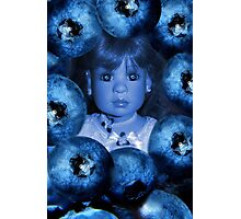 。◕‿◕。 4 THE LUV OF BLUEBERRIES JUST DON'T EAT 2 MUCH U MIGHT TURN BLUE LOL。◕‿◕。 Photographic Print