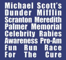 Dunder Mifflin Fun Run by unbearablybleak